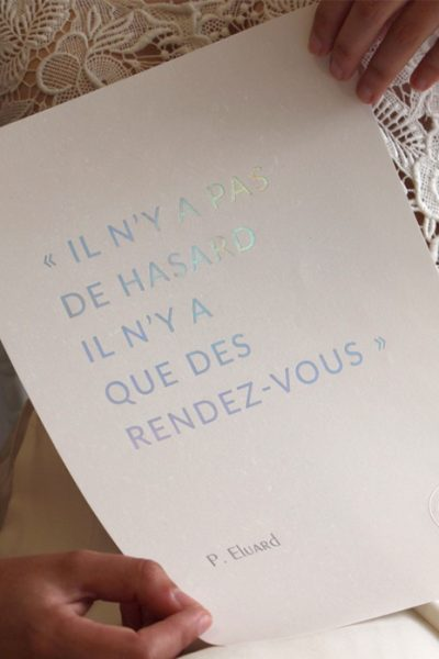 Affiche Citation Paul Eluard Atelier Ex Anima