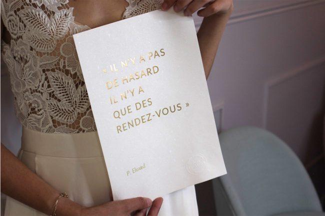 Affiche Citation Paul Eluard